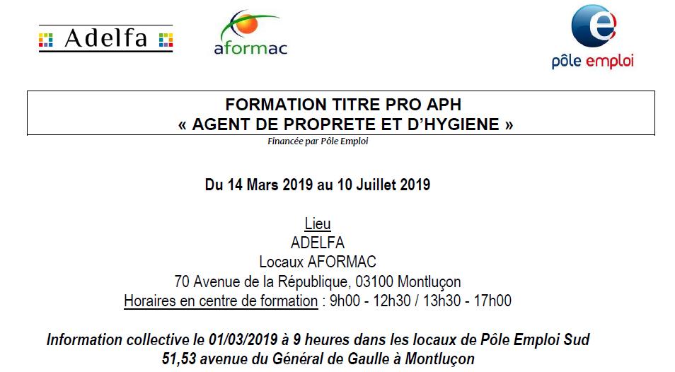 f7ed4423d77 FORMATION TITRE PRO APH « AGENT DE PROPRETE ET D HYGIENE » - Site ...